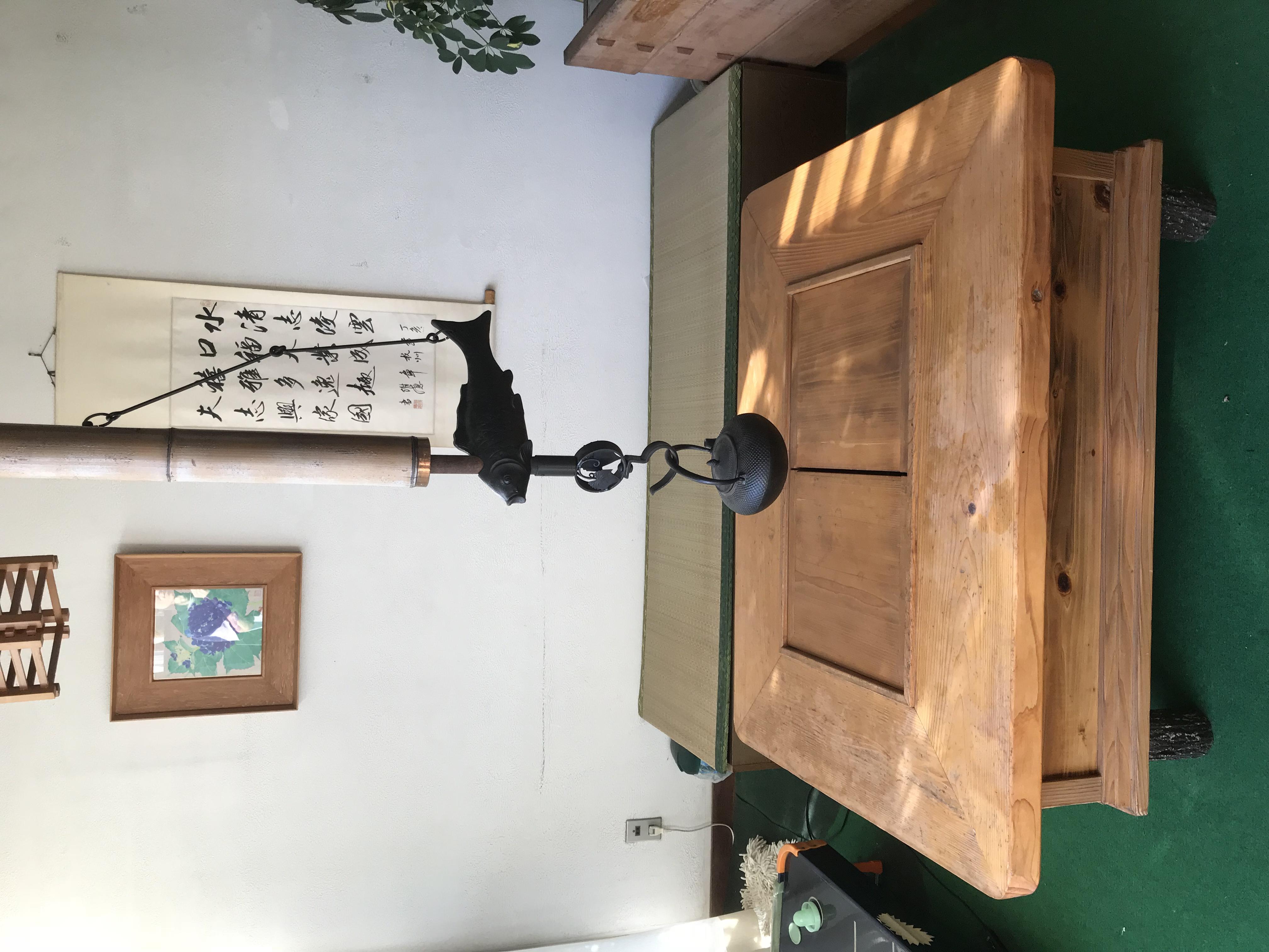 竹倉温泉の待合室